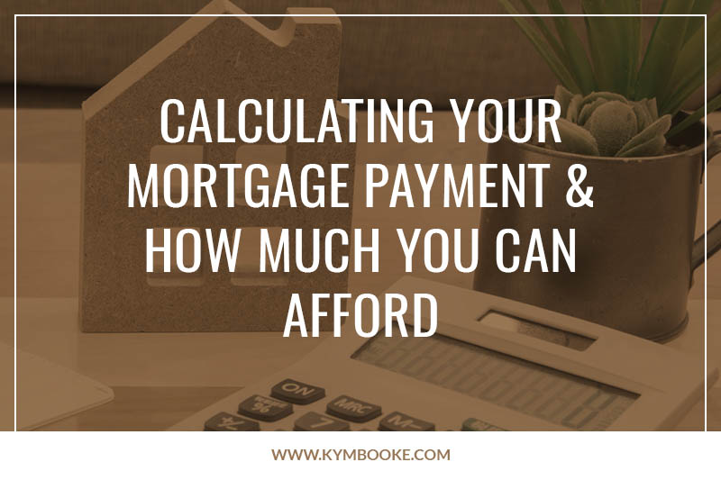 calculating your mortgage payment and how much you can afford
